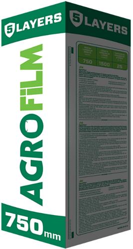 Wikkelfolie Agrofilm/Ulith 50cm donkergroen