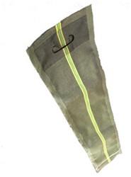 Zandslurf 120 x 27 cm | Met handvat en sluitkoord groen