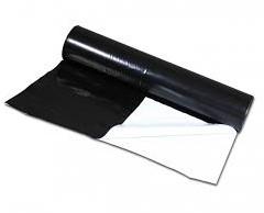 Landbouwplastic - 50 x 8 - Zwart/Wit